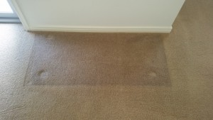 colour in carpet fading