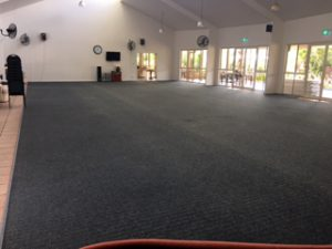 Carpet cleaning community halls