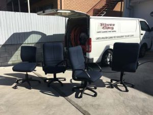 Upholstery cleaning cleaning office chairs