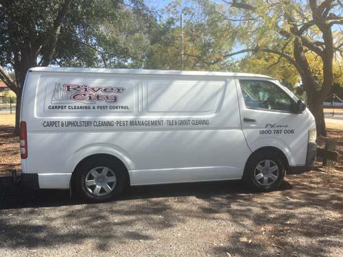 Carpet cleaning Ipswich Van